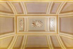 Interior diseñado hermoso del museo de vatican Imágenes de archivo libres de regalías