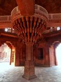 Interior of Diwan-i-Khas Hall of Private Audience  in Fatehpur Stock Photography