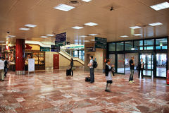 Interior do aeroporto Imagem de Stock Royalty Free