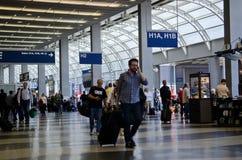 Interior do aeroporto Imagens de Stock