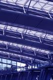 Interior do aeroporto Fotografia de Stock Royalty Free