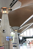 Interior do aeroporto Fotografia de Stock