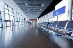Interior do aeroporto Foto de Stock Royalty Free