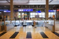 Interior do aeroporto Fotos de Stock