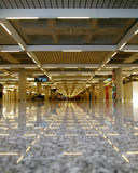 Interior do aeroporto Imagem de Stock