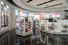 Interior do aeroporto de Dubai International Foto de Stock
