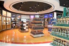 Interior do aeroporto de Dubai International Fotografia de Stock