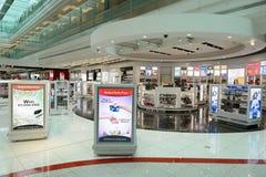 Interior do aeroporto de Dubai International Imagem de Stock Royalty Free