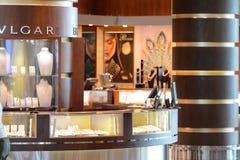 Interior do aeroporto de Dubai International Fotografia de Stock Royalty Free