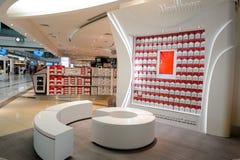 Interior do aeroporto de Dubai International Fotos de Stock
