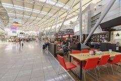 Interior do aeroporto de Dusseldorf Foto de Stock Royalty Free