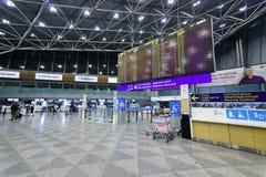 Interior do aeroporto de Helsínquia Fotos de Stock Royalty Free
