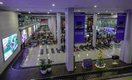 Interior do aeroporto de Manila em Filipinas fotos de stock royalty free