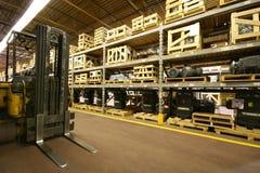 Interior do armazém Foto de Stock Royalty Free