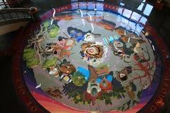 Interior do assoalho do capitol do estado de Texas Fotografia de Stock Royalty Free