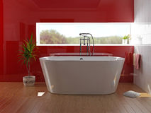 Interior do banheiro Fotos de Stock