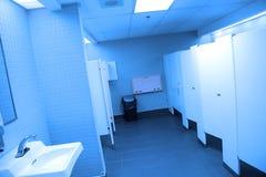 Interior do banheiro público Foto de Stock Royalty Free