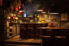 Interior do bar Imagem de Stock Royalty Free