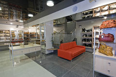 Interior do boutique Imagem de Stock Royalty Free