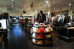 Interior do boutique Foto de Stock