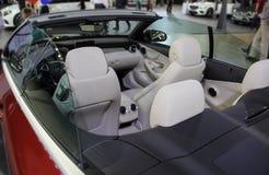 Interior do Cabriolet da classe de Mercedes-Benz C Imagens de Stock