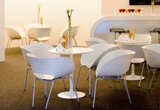Interior do café Foto de Stock