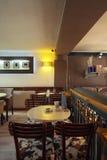Interior do café Imagens de Stock Royalty Free