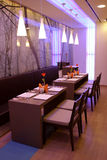 Interior do café moderno Imagem de Stock Royalty Free