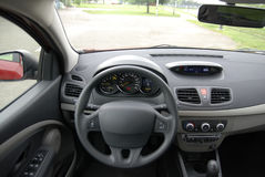 Interior do carro Fotos de Stock