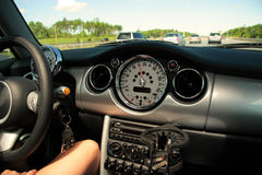 Interior do carro Foto de Stock
