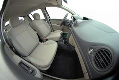 Interior do carro fotografia de stock royalty free