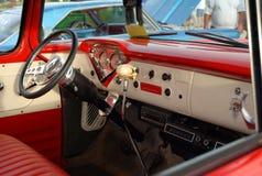 Interior do carro antigo Imagens de Stock