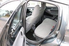 Interior do carro Assentos traseiros de um interior do carro Auto interior com bancos traseiros Foto de Stock Royalty Free