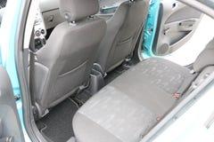 Interior do carro Assentos traseiros de um interior do carro Auto interior com bancos traseiros Foto de Stock