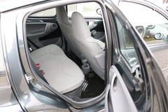 Interior do carro Assentos traseiros de um interior do carro Auto interior com bancos traseiros Fotos de Stock Royalty Free