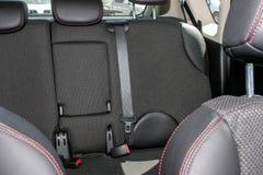 Interior do carro com bancos traseiros Fotografia de Stock