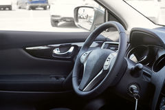 Interior do carro dashboard foto de stock