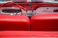 Interior do carro de American Motors Fotografia de Stock Royalty Free
