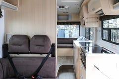 Interior do carro de turismo Imagem de Stock Royalty Free