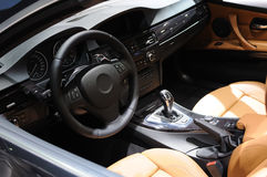 Interior do carro do Bmw imagem de stock royalty free