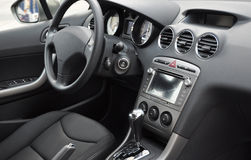 Interior do carro do negócio Foto de Stock
