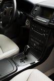 Interior do carro novo Fotografia de Stock Royalty Free