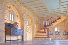 Interior do castelo Foto de Stock