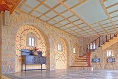 Interior do castelo Imagem de Stock