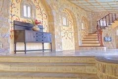 Interior do castelo Imagens de Stock Royalty Free