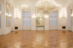Interior do castelo, quarto do espelho Fotografia de Stock