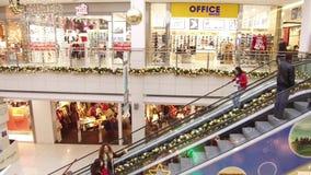 Interior do centro comercial filme