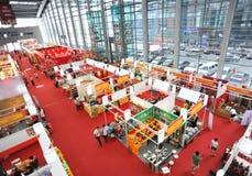 Interior do centro da convenção e de exposição Foto de Stock Royalty Free