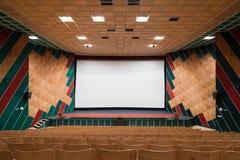 Interior do cinema foto de stock royalty free