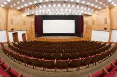 Interior do cinema Fotografia de Stock